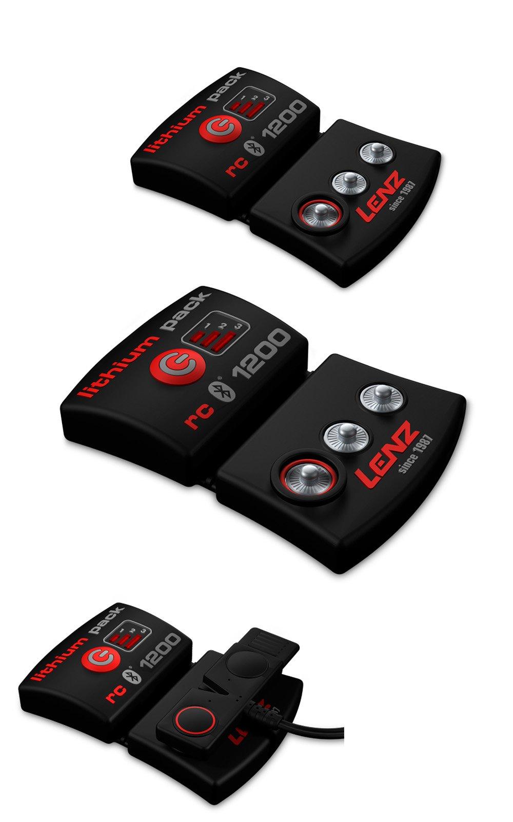 Batérie LENZ lithium pack rcB 1200