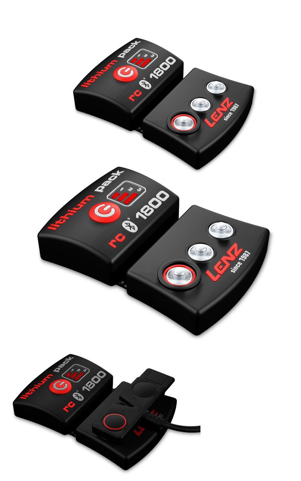 Batérie LENZ lithium pack rcB 1800